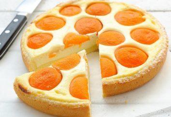 Un gâteau d'abricots et fromage: une recette