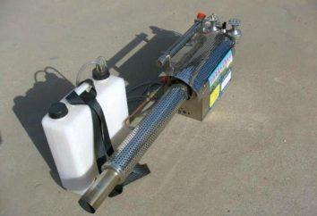 générateurs de brouillard froid sont les suivants: spécialisation technique, les types et commentaires