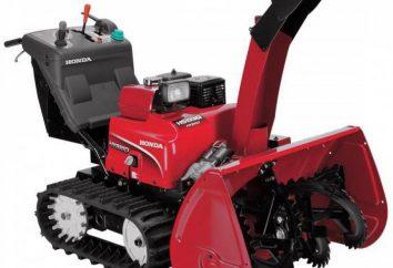 Machine pour nettoyer la neige: types, caractéristiques. Essence de déneigement essence
