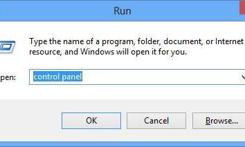 Instrucciones: cómo abrir Panel de control en Windows 8
