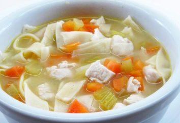 La sopa de pollo con fideos – cocina clásica rusa