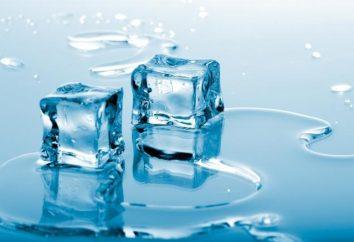 La température de congélation de l'eau – ???