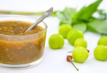 Ricetta per la salsa di prugne alla carne: georgiano e il tema cinese