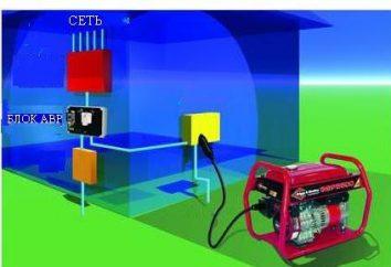 schema di ABP. ATS (ingresso riserva automatici) Generatore