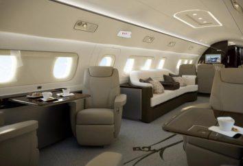 Una mirada al interior de los 5 aviones privados más caros del mundo