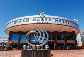 Grand Haber Hotel 5 * (Turquia / Kemer). Grand Haber Hotel Kemer, Turquia: visão geral, descrição e opiniões de turistas