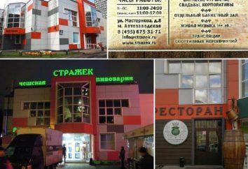 """Moskwa, m. Avtozavodskaya, Brasserie """"Strazhek"""""""