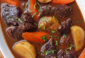 Comment faire cuire les pommes de terre multivarka avec de la viande: une étape recette pas à pas