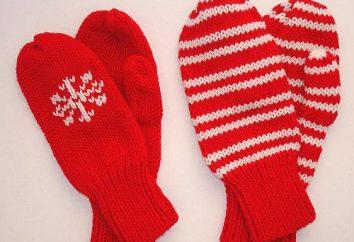 luvas de tricô – acessório quente para o inverno