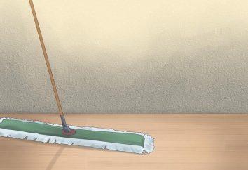 Cómo limpiar el suelo laminado? Detergente para el laminado