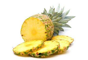 alimentation rapide. Ananas brûle les graisses