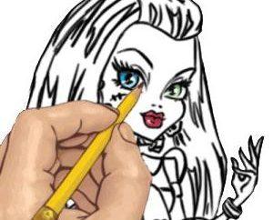 Comment dessiner un monstre avec un crayon? Considérons ce processus étape par étape