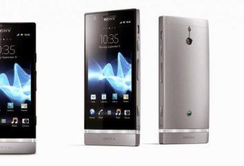 Teléfono inteligente Sony Xperia P: una visión general del modelo