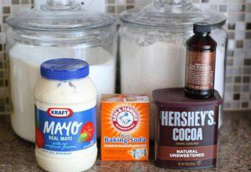 Die besten Rezepte von Desserts: Kuchen in der Mayonnaise. Süße Kuchen auf Mayonnaise