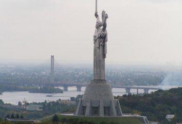 Motherland escultura em Kiev
