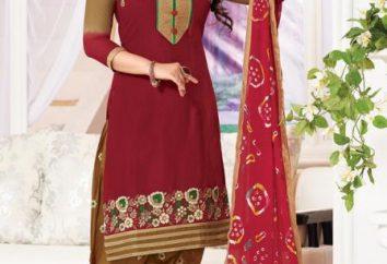 costume national kameez salwar indien: caractéristiques et types