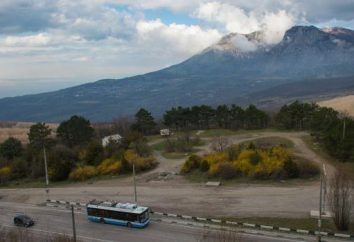 """Route """"Simferopol – Yalta"""": distance. Comment pouvez-vous rendre à votre destination"""