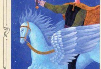 Cartes, ce qui signifie: Chevalier des épées (Tarot)