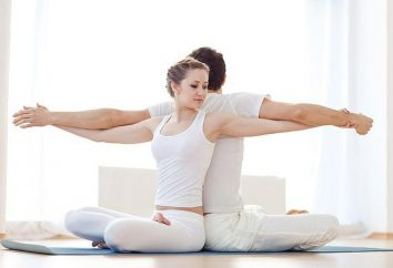 Yoga per due: l'esercizio fisico, la postura, la musica