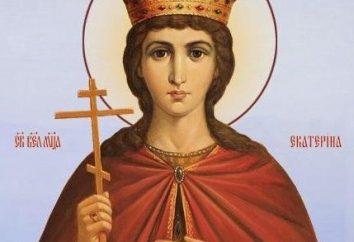 Die heilige Katharina von Alexandria ist ein christlicher Märtyrer