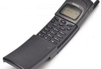 Nokia 8110: funkcje i wygląd klawiatury