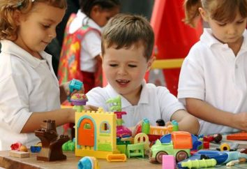 Proyecto en el jardín de infantes en el grupo medio. Clases con niños en kindergarten