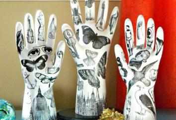 rzeźby gipsowe z rękami: wydajność technika, forma i zalecenia