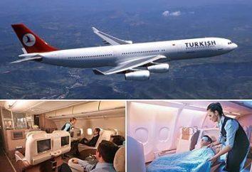 """Die Fluggesellschaft """"Turkish Airlines"""" – eine der ältesten Träger Hohe Pforte"""
