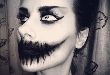 Como fazer uma maquiagem leve para o Dia das Bruxas com as mãos. ideias de maquiagem extravagantes