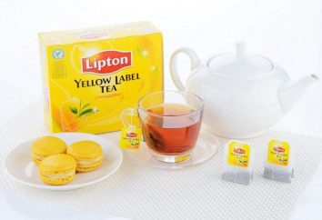 """Chá """"Lipton"""": variedades, os gostos. Comentários de clientes"""