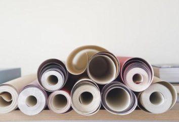 Rozmiar rolki tapety: standardy, typy, funkcje