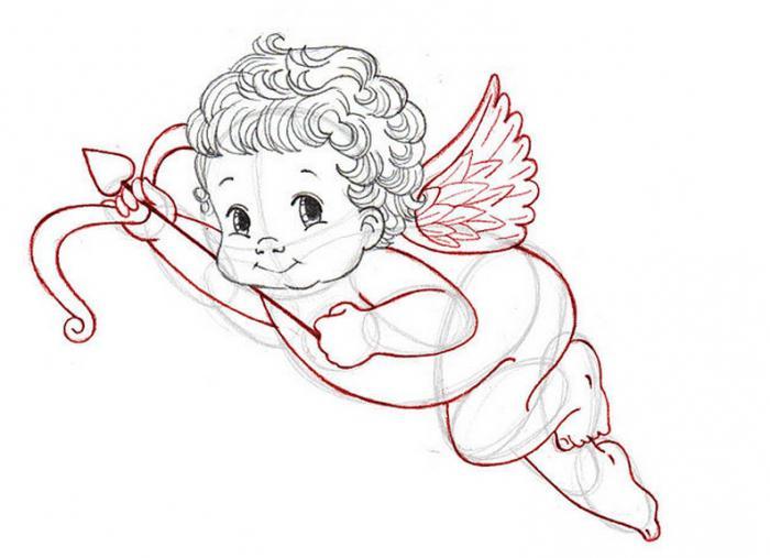Souvent Disegnare l'angelo d'amore: come disegnare Cupido QZ65
