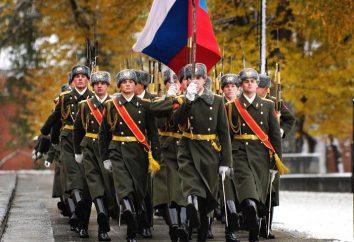 Día de Rusia Guardia – la alegría y el orgullo del pueblo ruso