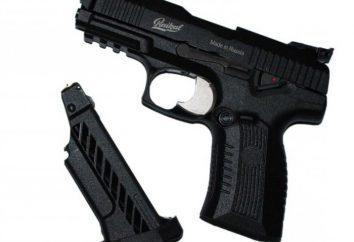 Pistolet pneumatyczny Yarygin MP-655K: opis, cechy i recenzje