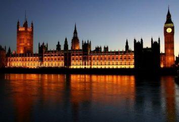 Misterioso y austero palacio de Westminster