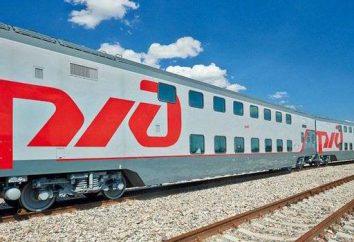 """Doppeldecker-Zug """"Moskau-Adler"""": Passagiere Bewertungen, Fotos und Preise. Jedes Feedback auf dem neuen Doppeldecker-Zug 104 """"Moskau-Adler""""?"""