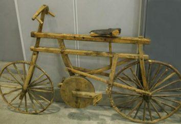 Une vieille bicyclette. L'histoire de la création et du développement d'un vélo