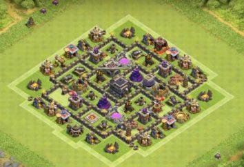 Layer 7 Municipio (Clash of Clans): allineamento degli edifici e delle raccomandazioni