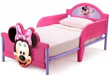 Taille des lits bébé et d'autres paramètres de sélection