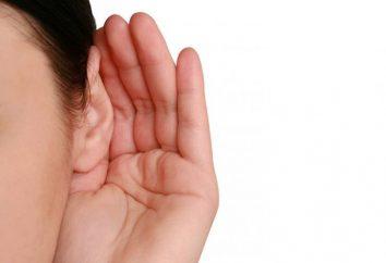 Plotka: odzyskiwanie z niedosłuchem odbiorczym, po zapaleniu ucha środkowego u dzieci po operacji