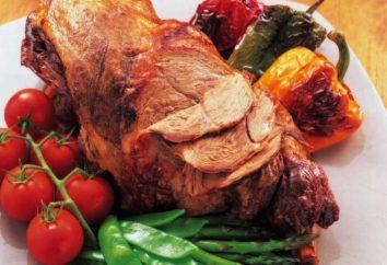 Jak pyszne gotować mięso w otwór w piecu?