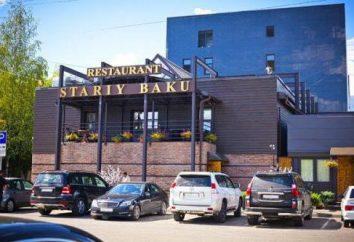 """Restaurante """"Old Baku"""" (Tver): descrição, fotos, comentários"""