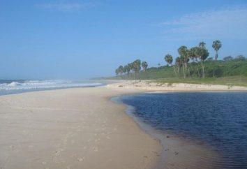plage sauvage comme un symbole de Krabi