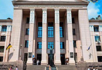 Kijów Akademia Medyczna. Narodowy Uniwersytet Medyczny. Bogomolets. Uniwersytet Medyczny UANM