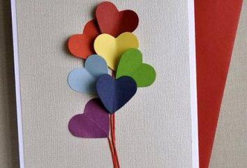 Fare una cartolina con le mani per San Valentino