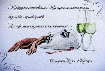 """Somerset Maugham powieść """"Teatr"""" i jego główny bohater dzhuliya Lambert"""