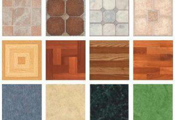 Linoleum Haus: Typen, Anwendungen. Bewertungen zur Herstellung von Linoleum