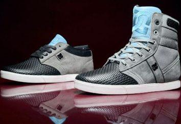Sneakers DC – elegante und praktische Schuhe