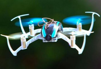 Najlepszy mini-Quadrocoptera: Przegląd, model, opis, cechy i recenzje