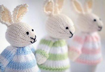 Dzianiny królik: produkcja unikatowych zabawek własnymi rękami